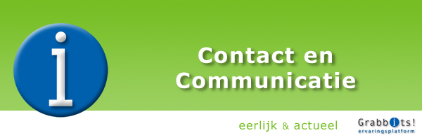 Grabbits Contact en Communicatie