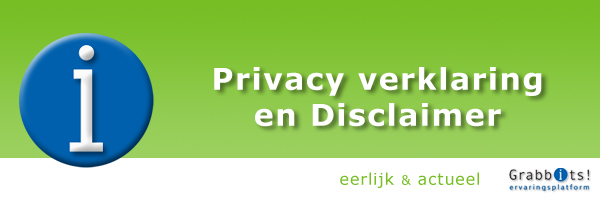 Grabbits Privacy verklaring en Disclaimer