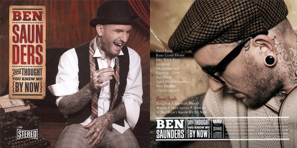 CD recensie: You Thought You Knew Me By Now - Ben Saunders